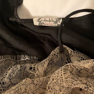 Free People Tops - Free people lace tank cami